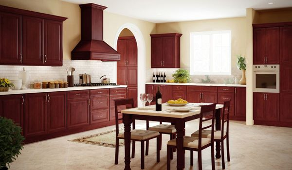 Regency Pomegranate Glaze Ready To Emble Kitchen Cabinets Price Range 1 742 00