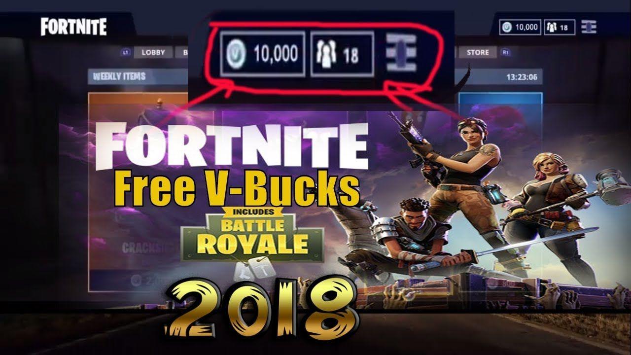 free vbucks hack