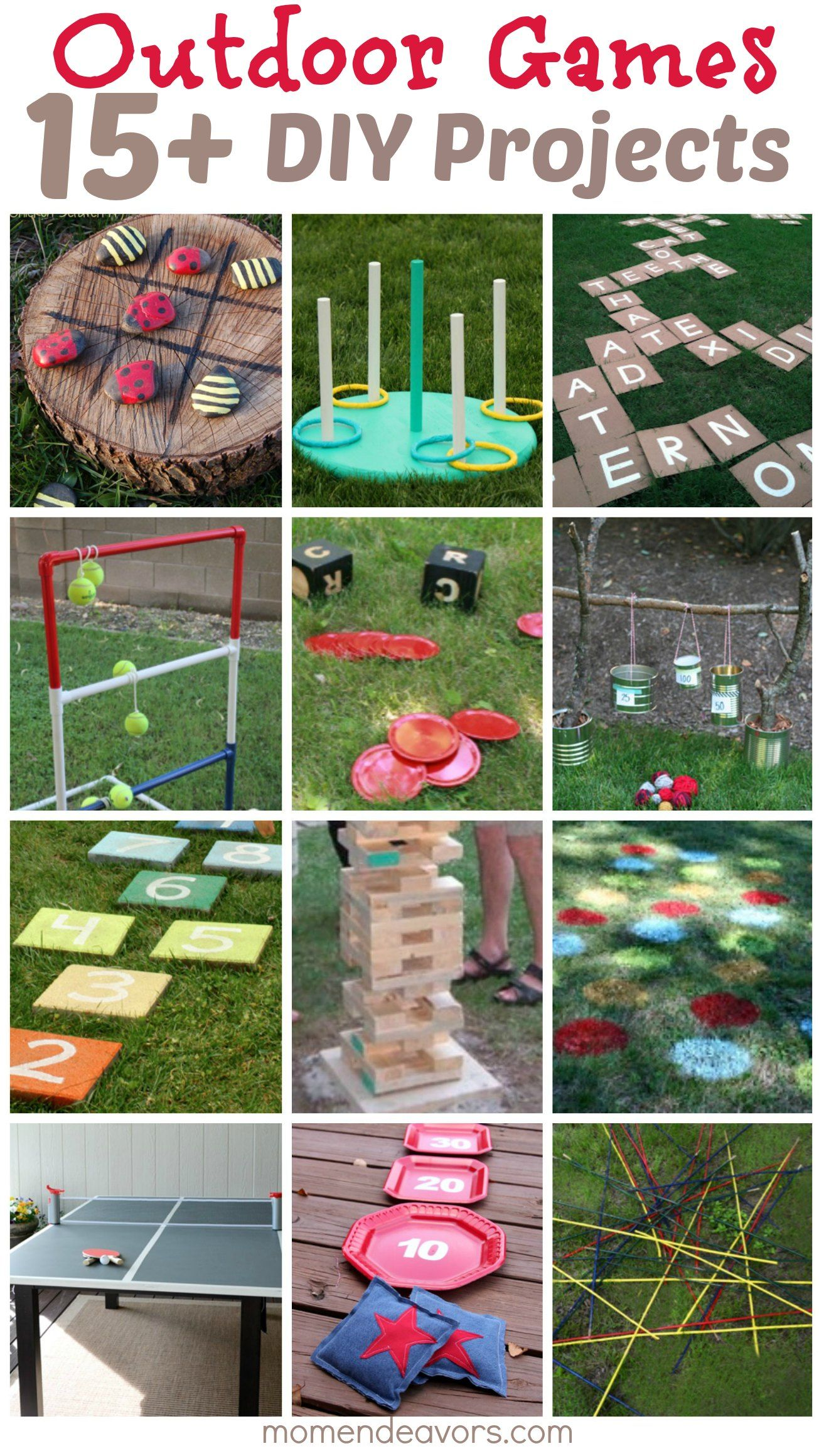DIY Outdoor Games 15 Awesome Project Ideas for Backyard Fun