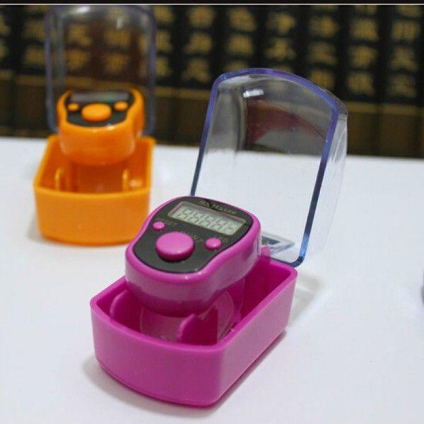 5Finger Ring Digital Tally Counter Tasbeeh Tasbih Number Clicker color at random