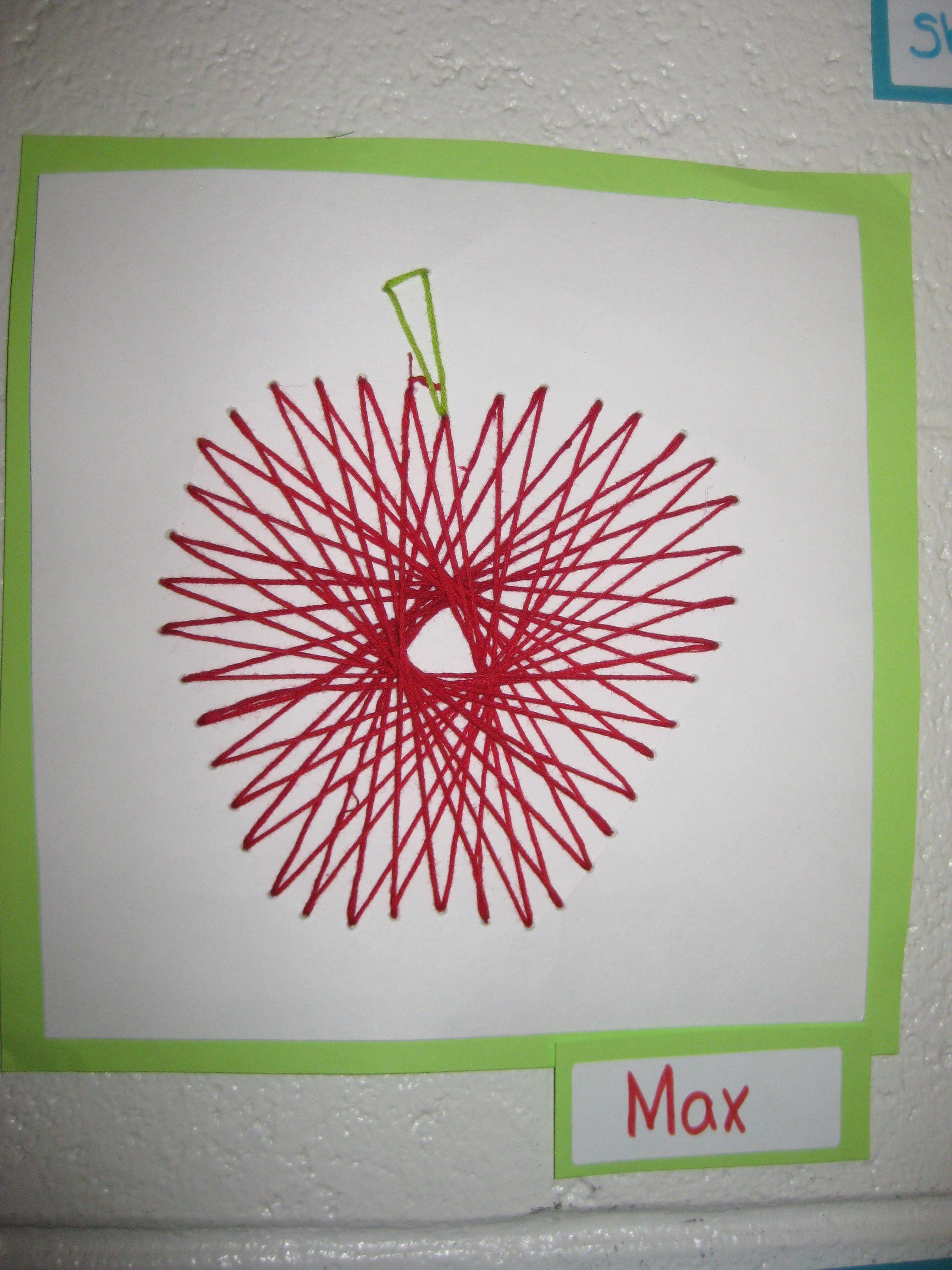 Using String Art To Teach Geometry