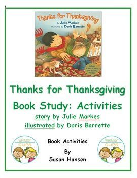 This wonderful unit contains reading, writing, sorting, rhyming word and drawing activities.  It is focused on the book Thanks for Thanksgiving.  There is also an original story, entitled Gratitude, which has connected close read, comprehension, fluency, short answer and cut and paste activities.