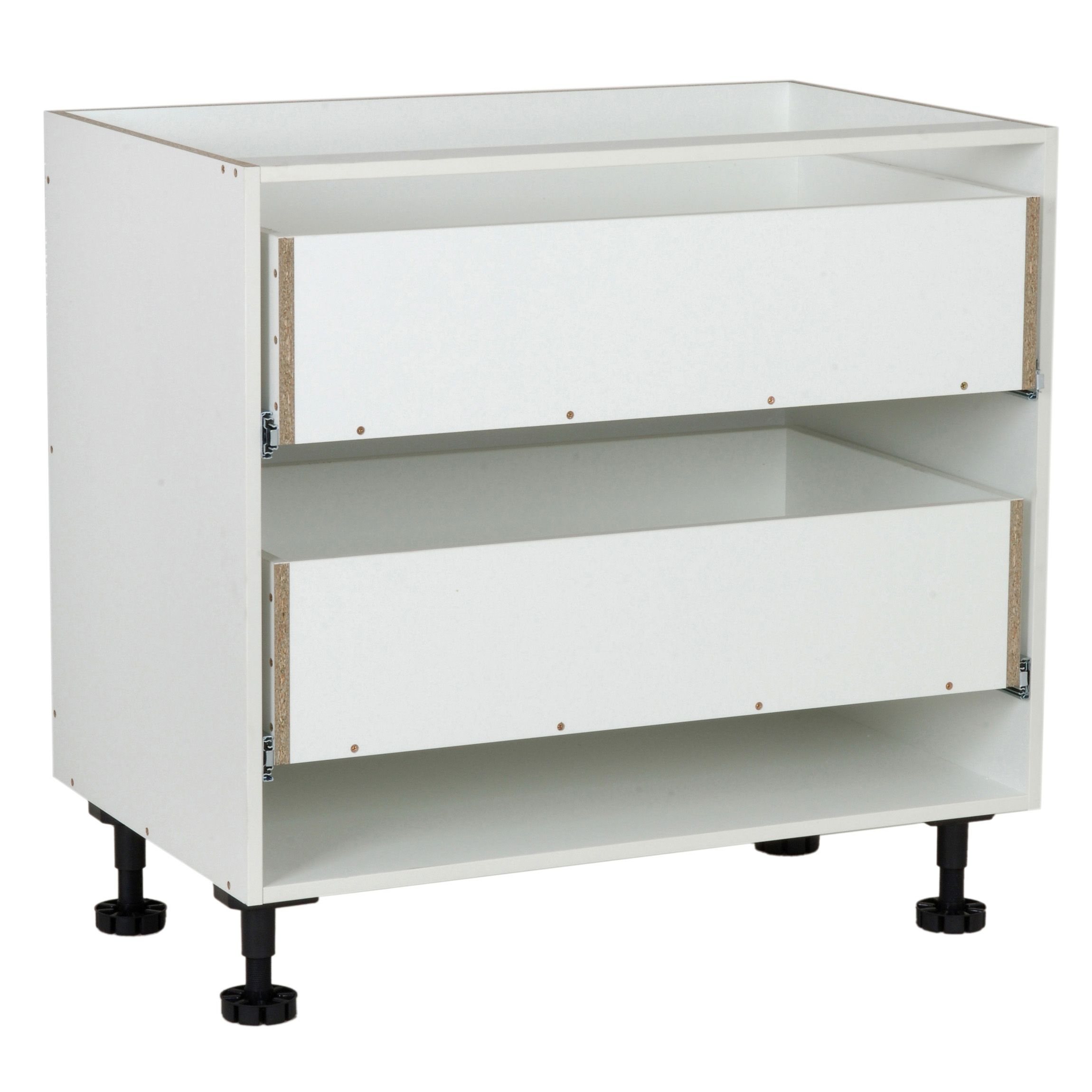 base cabinet kaboodle 900mm 2drawer w 51613 bunnings warehouse base cabinets cabinet on kaboodle kitchen bunnings drawers id=49882