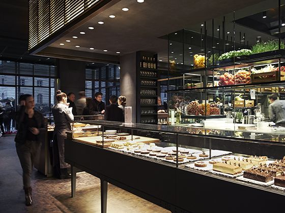 Princi milano ac bar restaurant pinterest store for Industrial designer milano