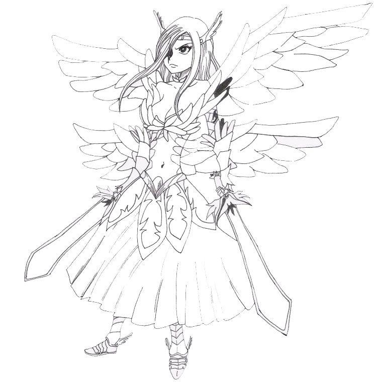 Imprimer Le Coloriage Fairy Tail Pour Imprimer Le Coloriage Fairy