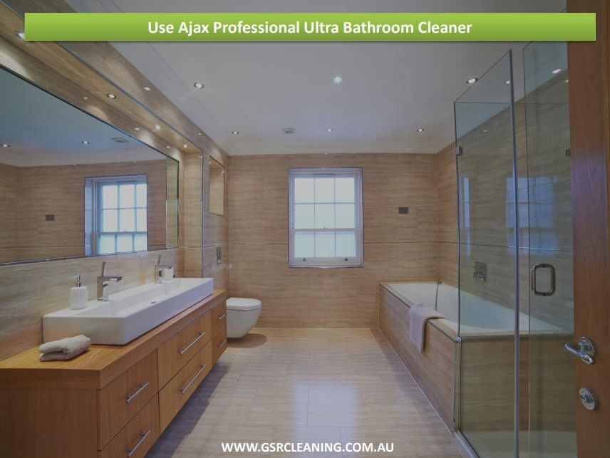 The best recommended product for cleaning shower doors is Ajax ...