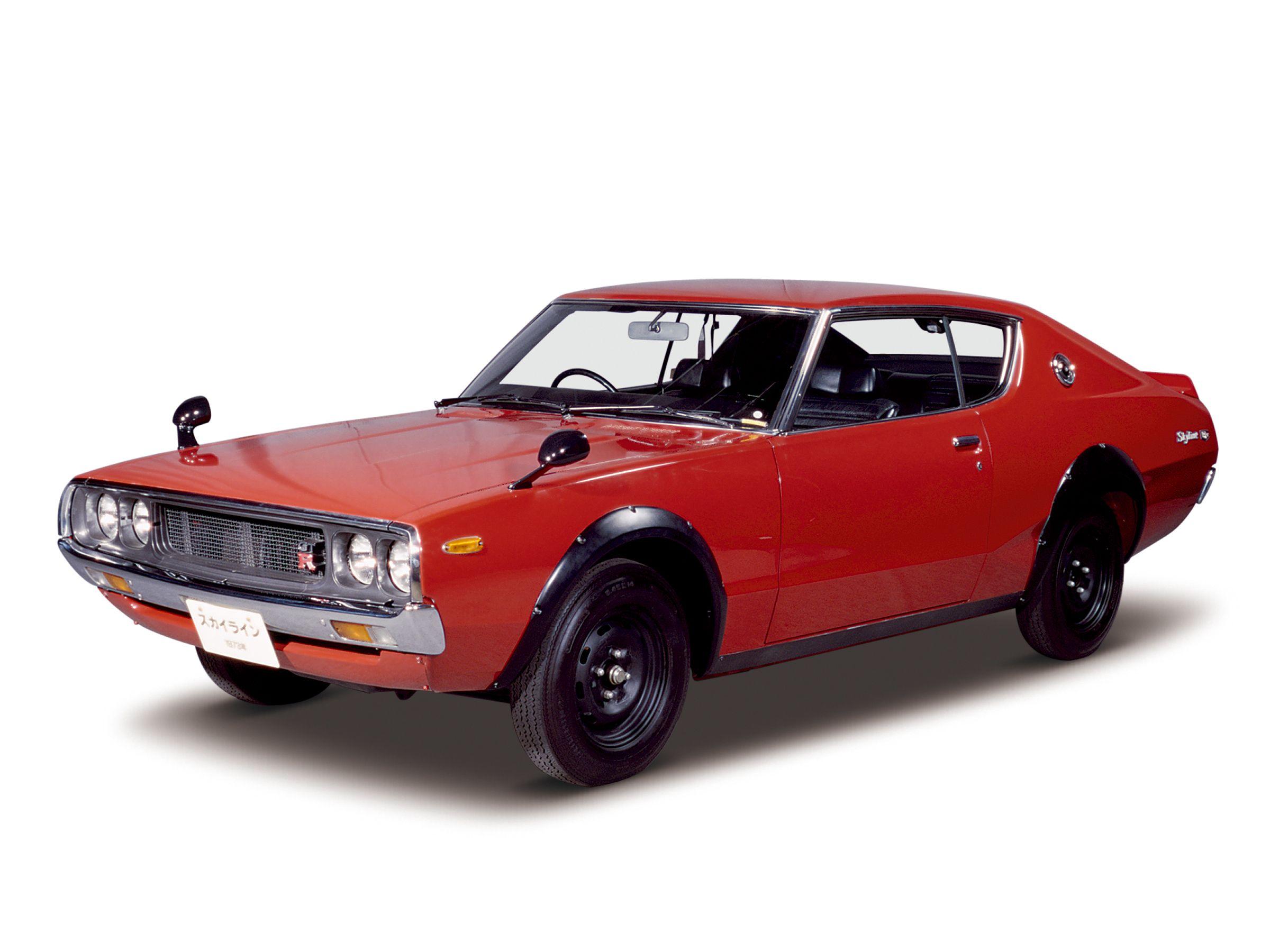 1973_Skyline_H_T_2000GT_R_red Nissan skyline, Volkswagen