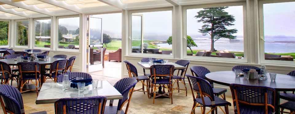 Merveilleux The Newest Addition To Pebble Beach Dining, The Bench Restaurant Offers  Incredible Views Of The Greatest Finishing Hole In Golf, Has An Open Air  Atmosphere, ...