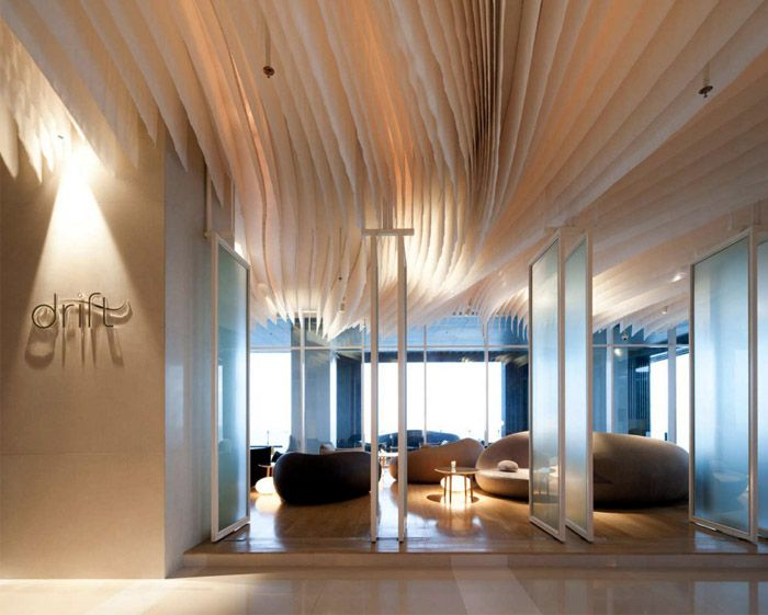 Amazing Interior Design at Hilton Pattaya Hotel - Deckengestaltung Teil 1