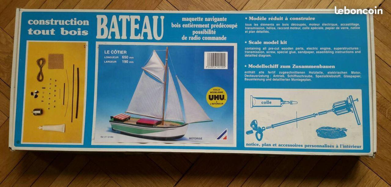 Maquette Bateau Navigante Bateau En Bois Modelisme Naval Radio Commande