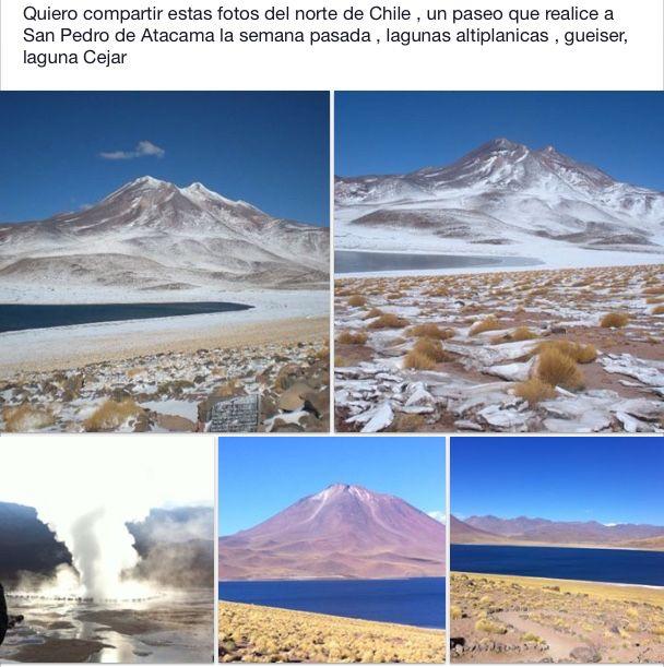 Paisajes del Norte de Chile.