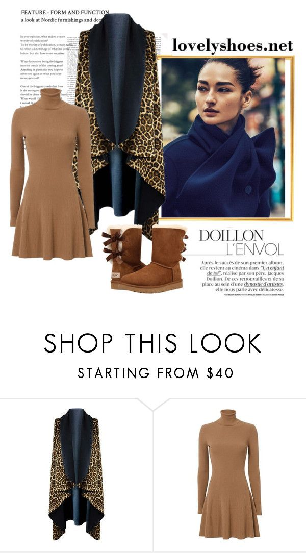 """""""Untitled #495"""" by kkotarac ❤ liked on Polyvore featuring A.L.C. and UGG"""