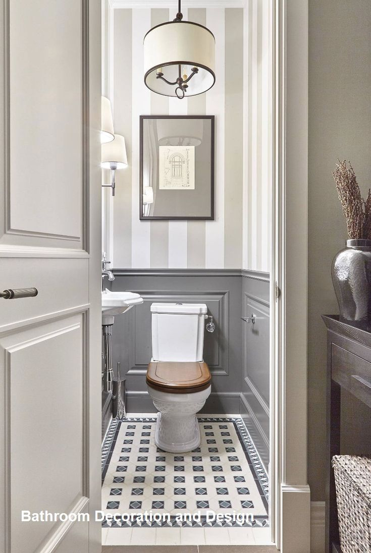 Best Bathroom Design And Decoration Small Half Bathrooms Bathroom Design Small Wainscoting Bathroom