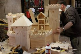 the elves and the wood botherer: In the Workshop