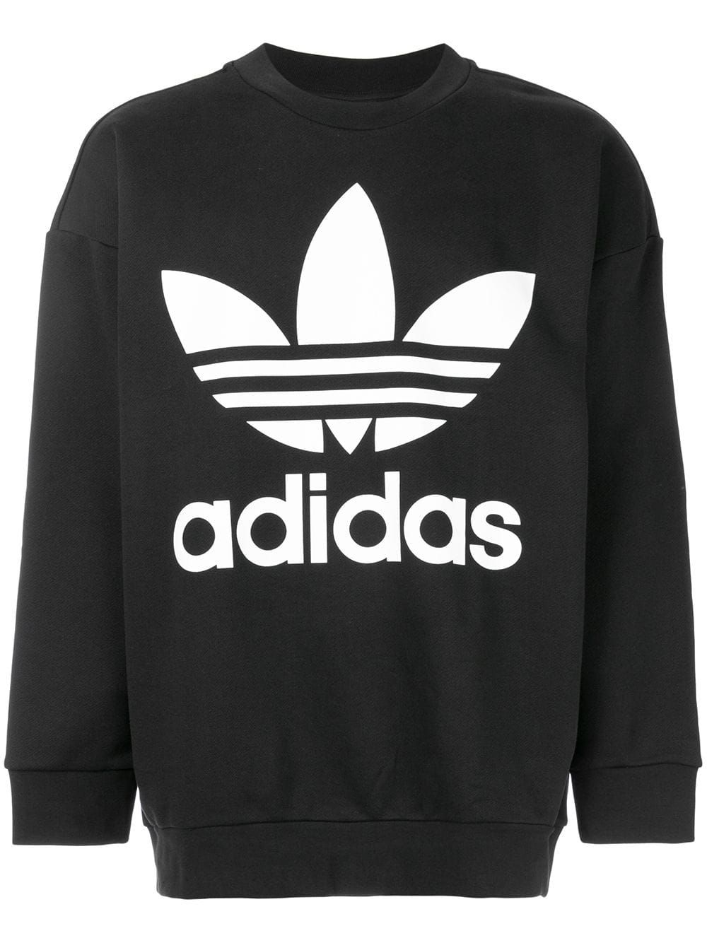 Adidas adidas Originals Oversized Sweatshirt With Trefoil