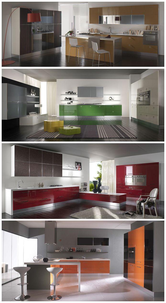 MIKA: #arredamento #cucina #colore Personalizza la tua cucina ...