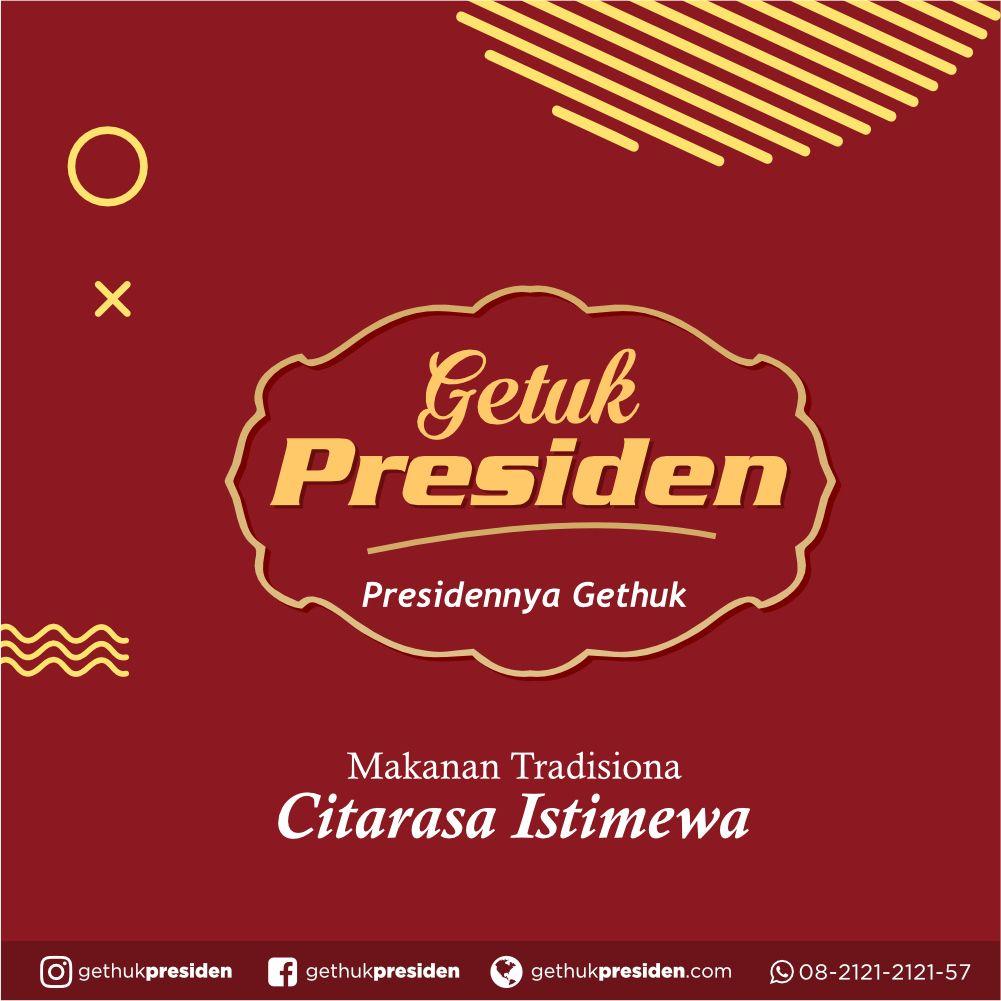 Title Dengan Gambar Presiden Tahu Makanan
