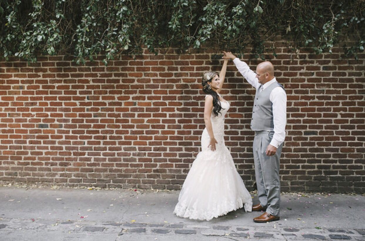 Back Alley Behind Firehouse In Old Sacramento For Vintage Rustic Victorian Wedding Blush