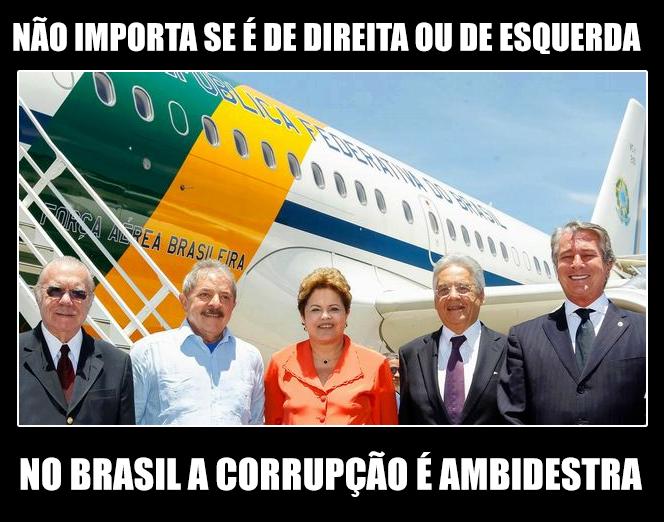 Quanto mais partidos tivermos mais roubados seremos. Reforma política já! #changebrazil