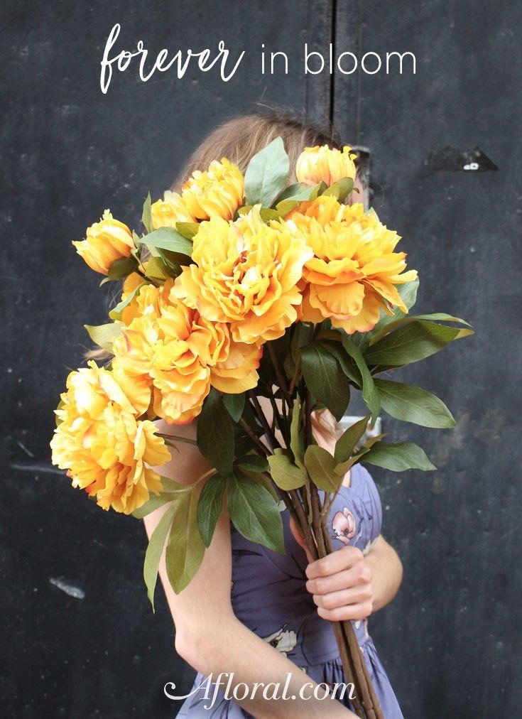 Bouquet flowers faux flowers from diy