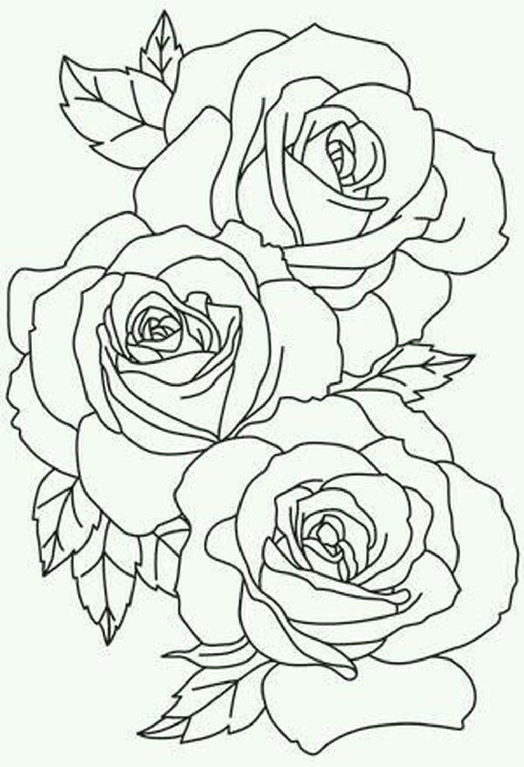50 Awesome Flower Tattoos Ideas For Valentines Day стежка розы