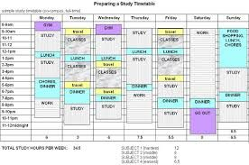 Study Timetable Google Search Study Schedule Template Study