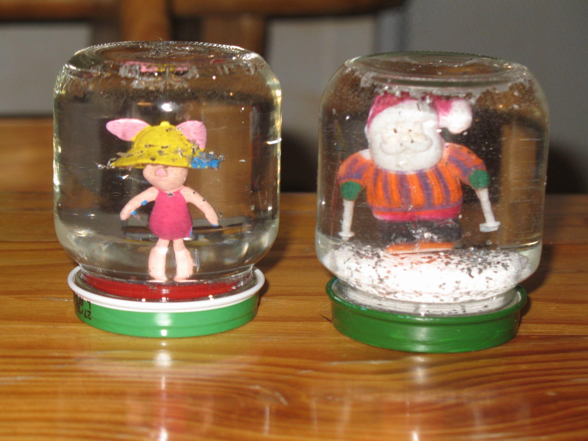 Pour faire une boule de neige vous aurait donc besoin de - Fabriquer une boule a neige ...