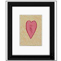 Our Gra/Love Ogham Art Print- Framed $45.00 from OghamArt.com
