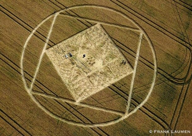 crop circle Reino Unido
