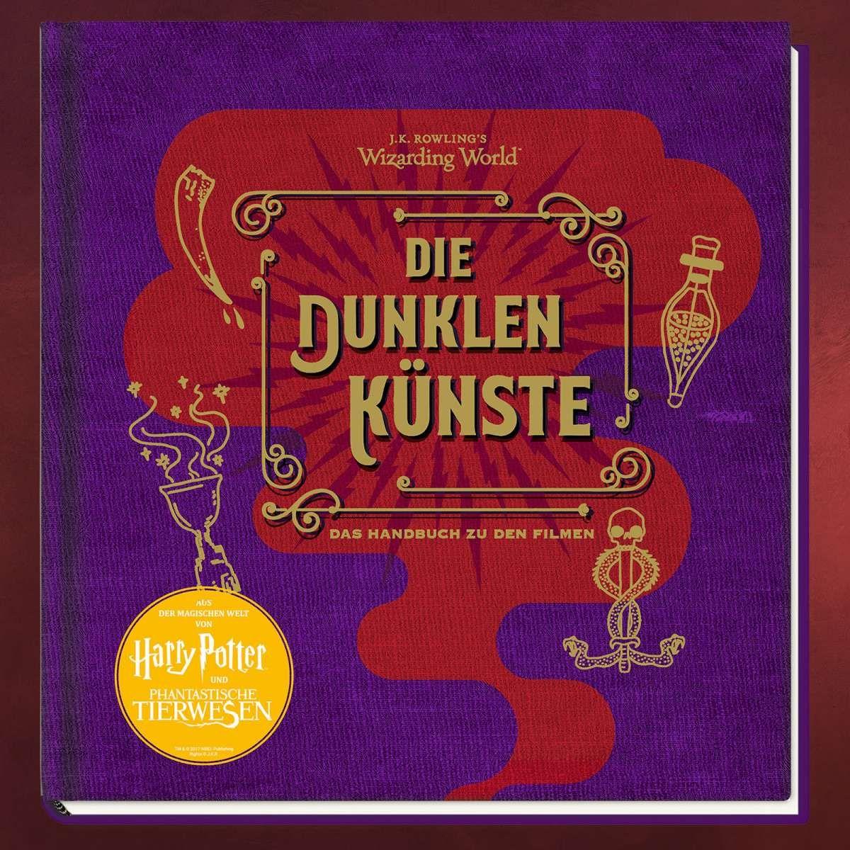 J K Rowlings Wizarding World Die Dunklen Kunste Dunkle Kunst Phantastische Tierwesen Bucher