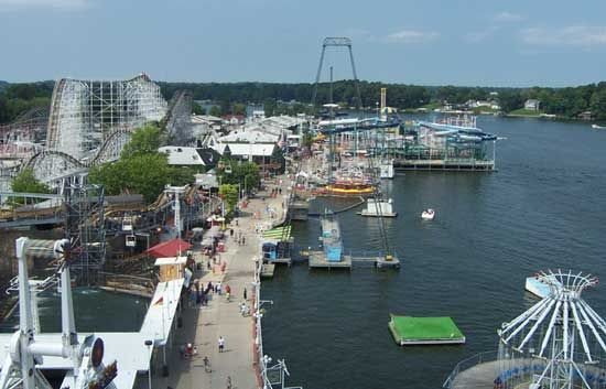 Image result for indiana beach aerial view