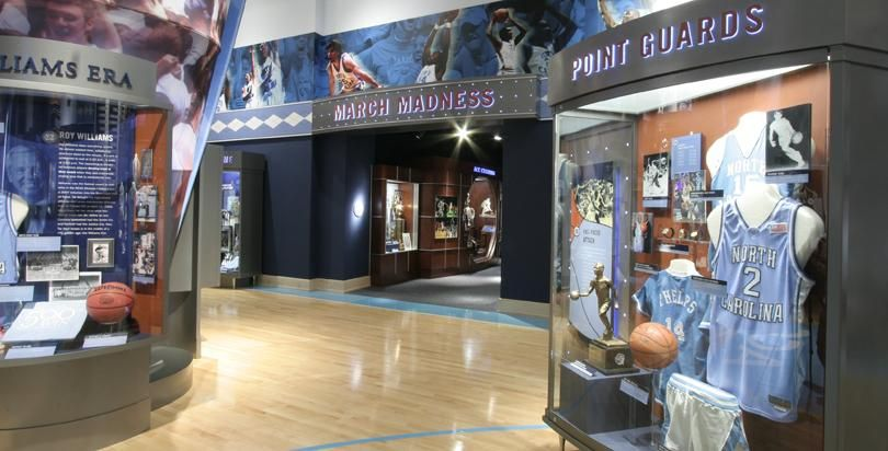 Image result for carolina basketball museum