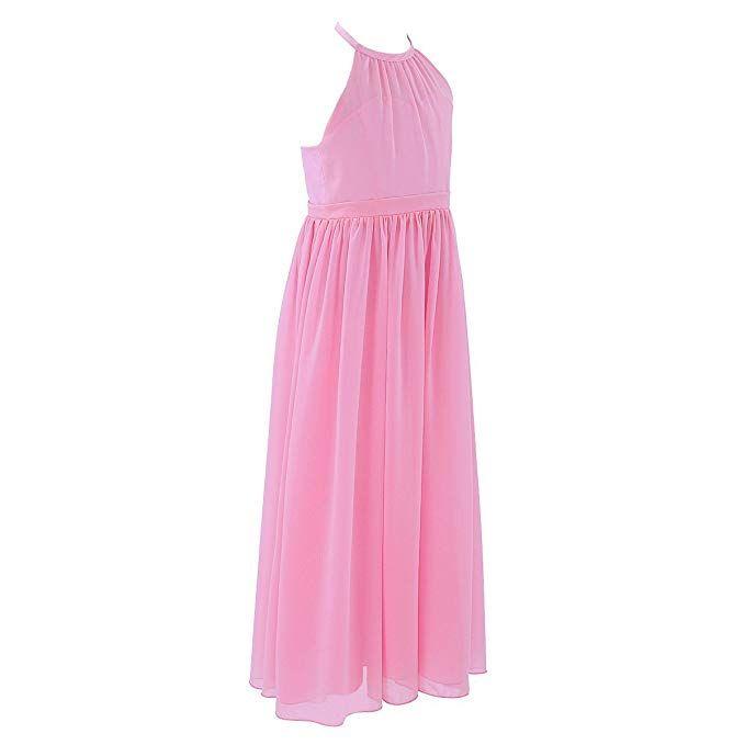 Freebily Mädchen Festliches Kleid Sommerkleid lange ...