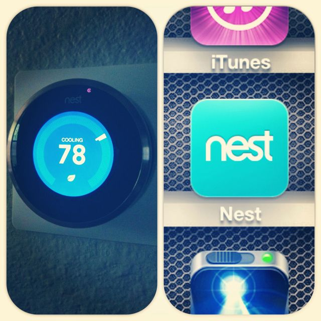 My Nest Thermostat Set Temperature In The House From Anywhere In