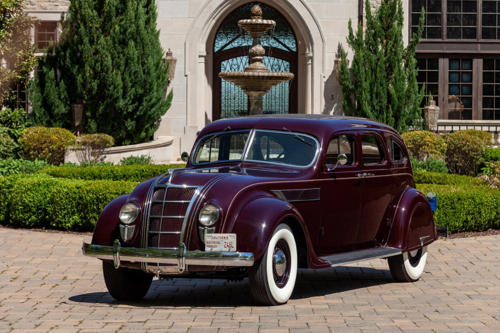 ExCarroll Shelby 1935 Chrysler Imperial Airflow C2 Sedan