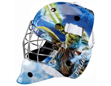 Bauer Nme 3 Star Wars Yoda Goal Helmet Senior Goalie Mask Street Hockey Hockey Goal