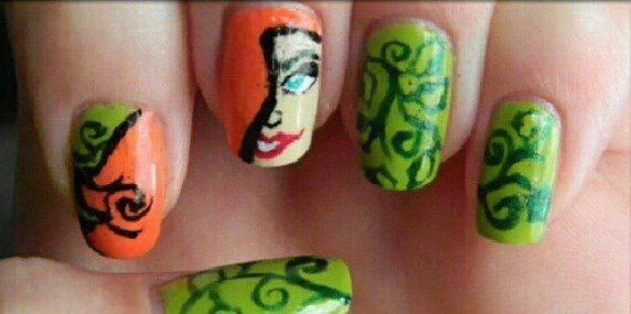Poison Ivy Nails Poison Ivy Cosplay Ideas Pinterest Poison Ivy