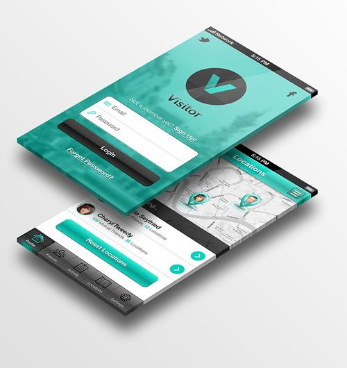 App Design Ideas app design by billyashgray billyashgray 32 Modern App Sign In Login Screen Ui Designs 31