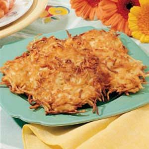Potato Pancakes For Two Recipe