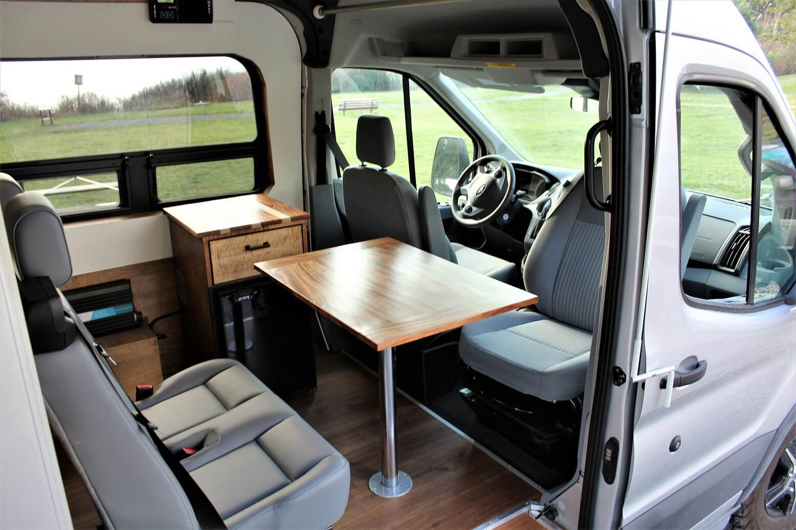 The Land Yacht Craft Is Attention To Detail Freedom Vans Transitional House Transitional Decor Transitional Fireplaces
