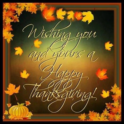 Wishing you and yours a happy thanksgiving holiday pinterest thanksgiving m4hsunfo