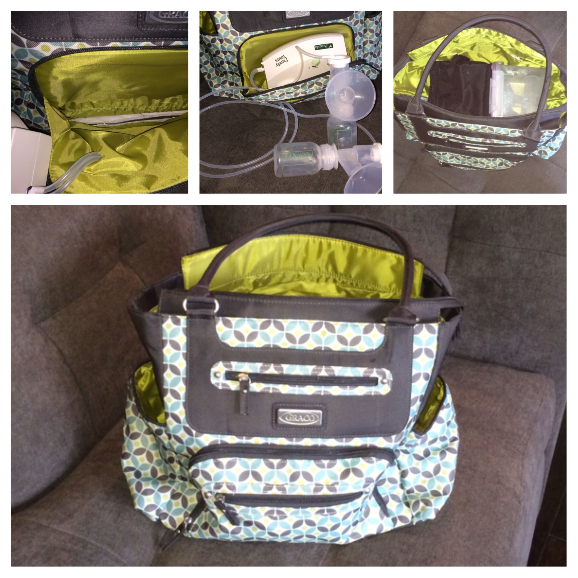 Dilemma Only T Pump Available On Insurance Plan Doesn Come With A Tote Solution Convert Graco Diaper Bag Into
