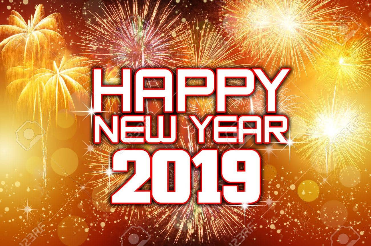 Pin By Live Hair Styles On Happy New Year 2019 Happy New Year Images Happy New Year Wallpaper Happy New Year Meme