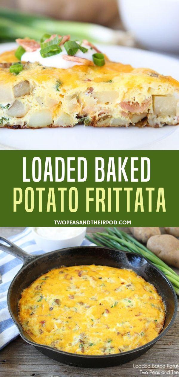 Frittata Recipe {Loaded Baked Potato}