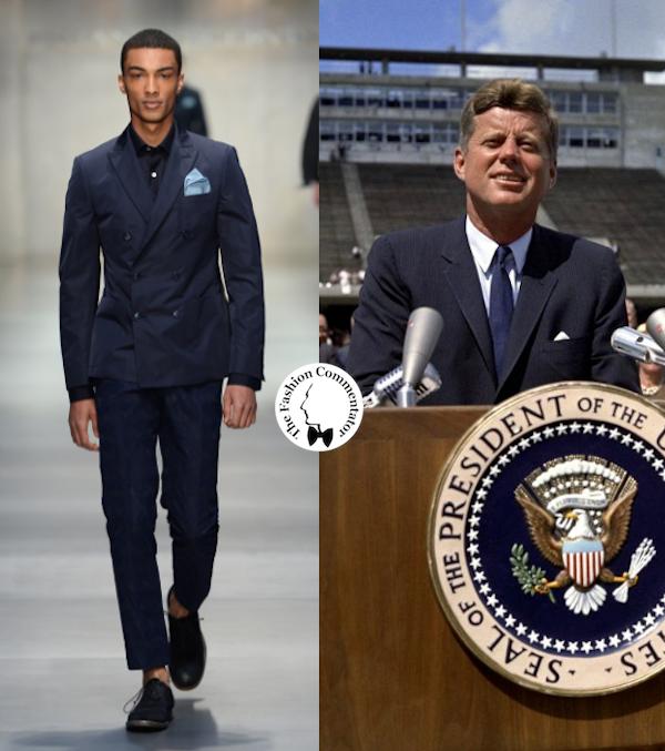Ermanno Scervino Uomo SS 2014 - JFK blue suit