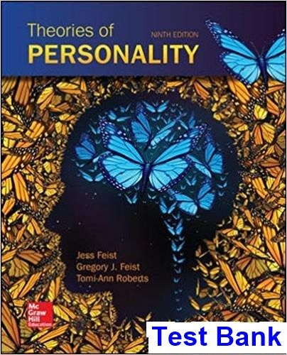 Theories personality 9th edition feist test bank test bank theories personality 9th edition feist test bank fandeluxe Gallery