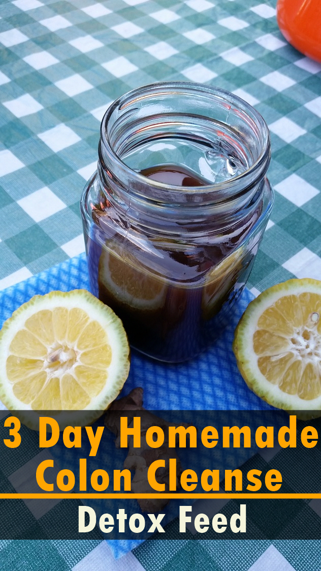 Get a gut cleanse or a bowel cleanse in 3 days with this homemade colon cleanse