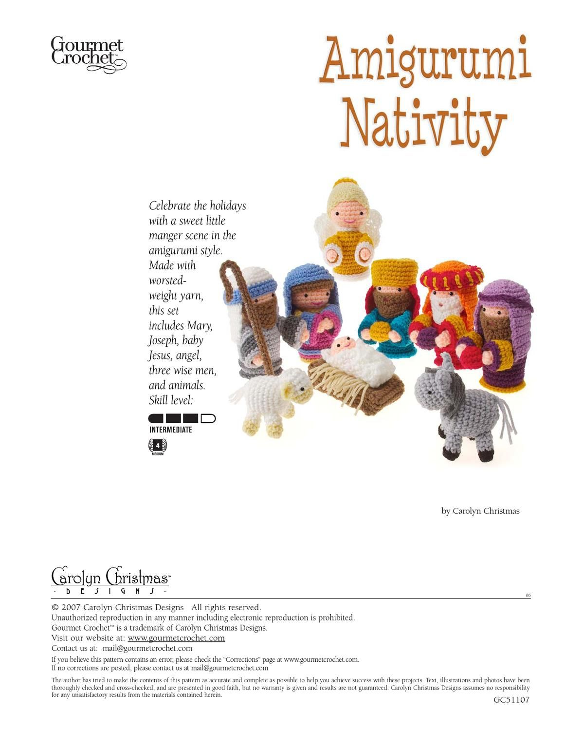 nacimiento crochet | Crochet patterns | Pinterest | Navidad ...