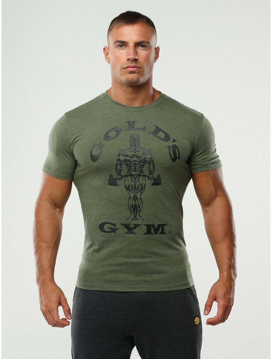 Gold s Gym T-Shirt - Muscle Joe Print Army  d16550d17a8c