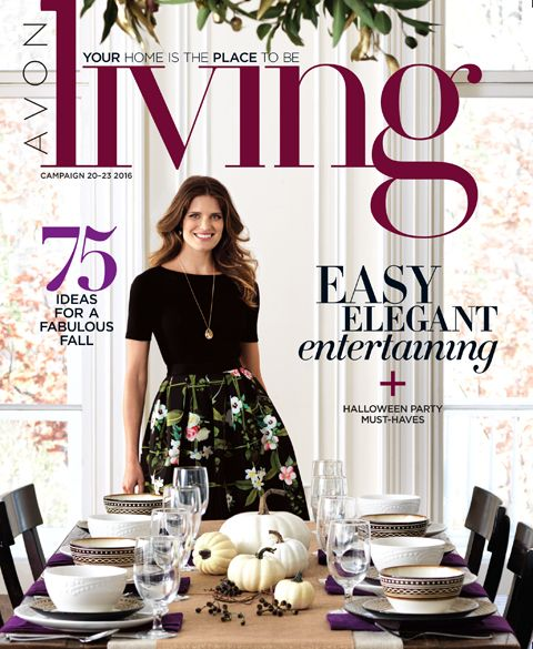 Avon Living Catalog has LOTS of decor for you home! This Catalog